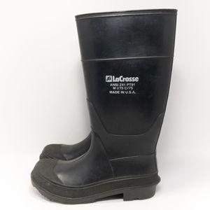 LaCrosse Steel Toe Rubber Boots